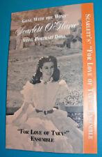 """Scarlett Doll Franklin Mint """"For The Love Of Tara"""" COA ONLY"""