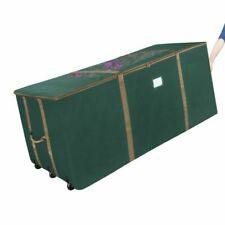 1049 Elf Stor Green Rolling Christmas Tree Storage Duffel Bag W/window for 9 FT