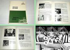 Deutz Fehlersuch Handbuch Motor 912 F4L912 für Traktor D6207C .