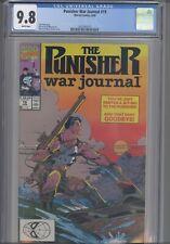 Punisher War Journal #19 CGC 9.8 1990 Jim Lee Marvel Comic: New Frame