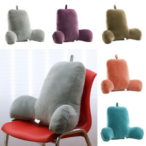 Back Rest Pillow Reading/TV Large Hollow Cotton Cushions for Back Neck Relax