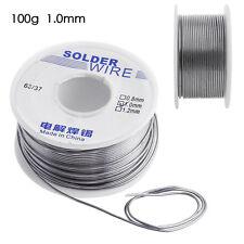 100g 1mm Rosin Core Weldring 63/37 Tin Lead Industrial Soldering Solder Wire NEW