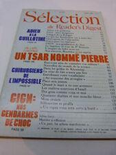 selection du reader's digest , N°425, JUILLET 1982 (cai104)