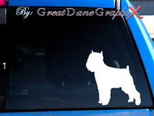 Griffon Bruxellois Brussels #2 -Vinyl Decal Sticker -Color Choice -High Quality