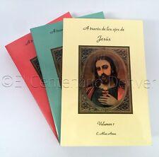 Atravez De Los Ojos De Jesus - Volumen 1, 2 y 3 (Set Completo)