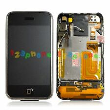USED LCD DISPLAY + TOUCH SCREEN DIGITIZER ASSEMBLY + FRAME FOR IPHONE 2G