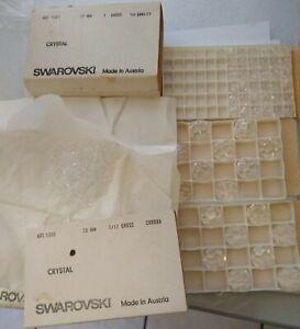 VINTAGE Swarovski CRYSTAL BEADS LOT