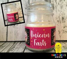 Unicorn Farts WANKY CANDLES Rude/ Funny/ Offensive/ Humour / Novelty