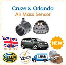 For Chevrolet Cruze + Orlando 2009- HELLA Mass Air Flow Sensor New 55562426