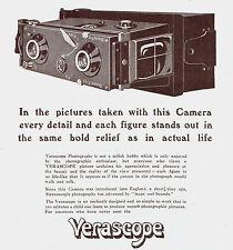 Verascope Camera Jules Richard 1911 Advertisement Ad 9333
