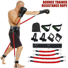 Fitness Resistance Bands Set Body Exercise Belt Pull Rope Bounce Trainer HQ