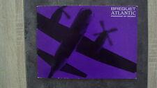 Catalogue Breguet Atlantic produit par Secbat (en anglais) - 11/1966