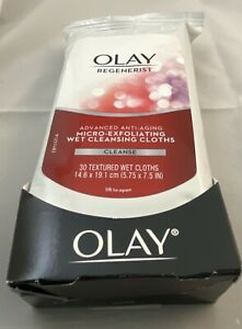 Olay Regenerist l Micro-Exfoliating Anti-Aging 30 Wet Cleansing Cloths