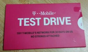 NEW T-Mobile Test Drive WiFi Hotspot 30 GB & 30 Days Of Service Prepaid