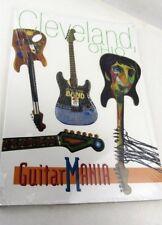 GUITAR MANIA - Cleveland Ohio community art Project, NEW unopened GuitarMania