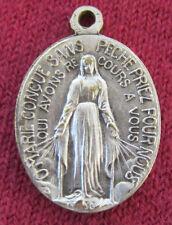 "Antique Catholic Religious Holy Medal - MIRACULOUS - Beata Julia - BY: "" BOUIX """