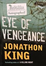 "Jonathon King Hand Signed Book ""Eye Of Vengeance"" 1st Edition Hardcover/Dj Coa"