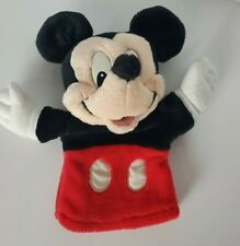 Mickey Mouse Hand Puppet Plush Toy Stuffed Animal Applause Vintage 0428