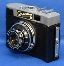 SMENA 6 Vintage Rangefinder Film Camera LOMO T-43 f/4 40mm lens USSR CMEHA