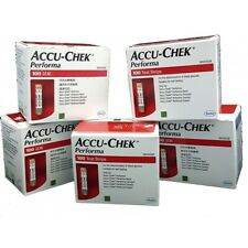 Accu Chek Performa 100 Test Strips Expiry  August/2020 or Later