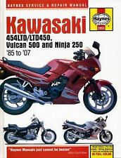 Reparaturhandbuch Kawasaki 454LTD/LTD450 & Vulcan 500