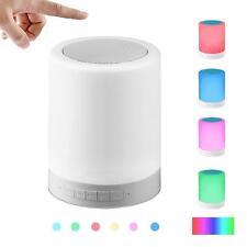 Table Lamp Bluetooth Speaker Touch Sensor Bedside Lamp Portable Multifunctional