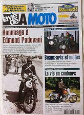 LVM - La Vie de la Moto n°307 du 15/1/2002; Hommage à Edmond Padovani/ Terrot