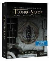 Steelbook 4K IL TRONO DI SPADE 8 STAGIONE FINALE (6 Blu-ray 4K UHD + 2K) GOT 8