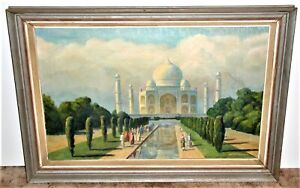 The Taj Mahal Signed A.C. McGowan