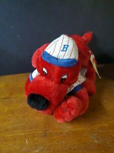 "15"" Clifford the Dog Plush in Baseball Uniform 2001"