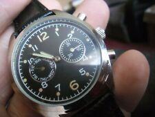 nice gents 1950s british raf  military  style quartz  watch