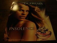 HILARY SWANK - PUBLICITE PARFUM INSOLENCE !!!!!!!!!!!