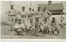 Marshall MN Baseball Team Vintage Bats & Gloves RPPC Real Photo Postcard