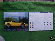 2006 Corvette Z06 Coupe Convertible Information Facts Card NEW