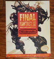 Final Fantasy III 3 Super Nintendo SNES Players Guide Strategy Book
