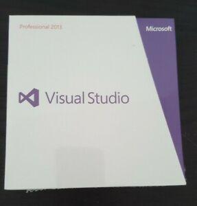 Microsoft Visual Studio Professional 2013 Pro Retail New C5E-01018