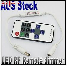 LED Wireless Remote Strip Light Controller Dimmer RF Single Colour 3520 - 8520