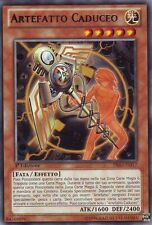 Artefatto Caduceo YU-GI-OH! PRIO-IT017 Ita RARA 1 Ed.