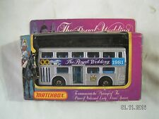 MATCHBOX THE ROYAL WEDDING 1981