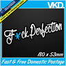 F*ck Perfection Sticker/ Decal - FCK JDM Car Drift Turbo Euro Fast Vinyl Classy