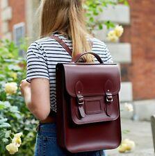 Portrait Backpack in Leather - OxbloodThe Cambridge Satchel Company