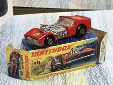 Matchbox Superfast Lesney No. 19 Road Dragster VGinVGB