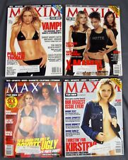 Maxim Magazine #29 May #31 July #32 August #33 September 2000 Coyote Ugly X-Men