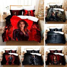 Black Widow Quilt Cover Bedding Set 3PC Duvet Cover Pillowcase Comfortable Cover