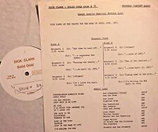 Radio Show: DICK CLARK GOLD #38 4/65 BOB DYLAN, SAM THE SHAM, SUPREMES, SEEKERS