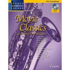 Movie Classics - Film-Melodien für Alt-Saxophon und Klavier inkl. CD [Musiknoten