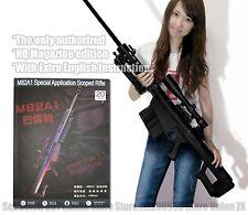 Kids Toys Gun 3D Paper Model 1:1 Scale Barrett M82A1 12.7mm Sniper Rifle Weapon