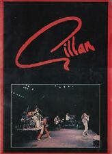 Ian Gillan 1982  Double Trouble TOUR PROGRAM BOOK