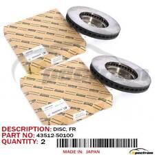 LEXUS GS430 IS300 SC/LS400 FACTORY OEM 43512-50100 FRONT BRAKE ROTOR DISC SET