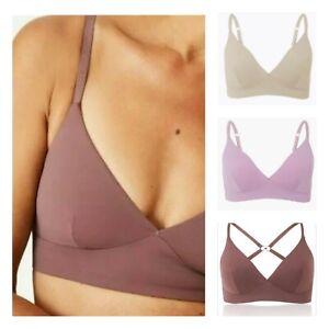 Womens Bralette Non Wired Soft Bra Ex M&S Body RRP £16 32-38 A-E